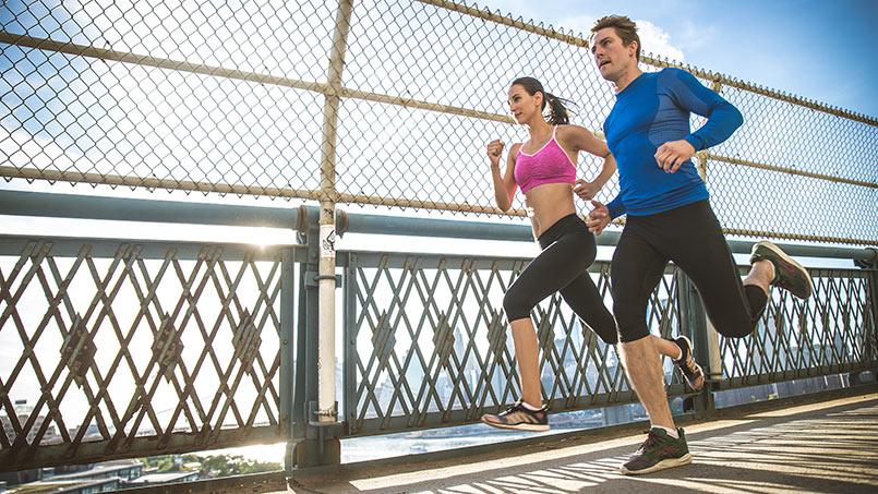rutinas de entrenamiento para correr 10 km - isaf