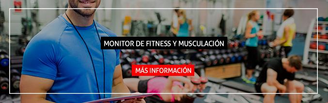 Monitor de Fitness y Musculación