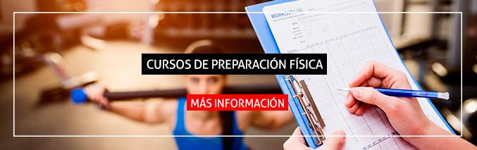 banner curso preparacion fisica - isaf