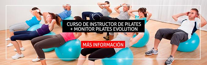 Instructor Pilates + Monitor Pilates Evolution - ISAF