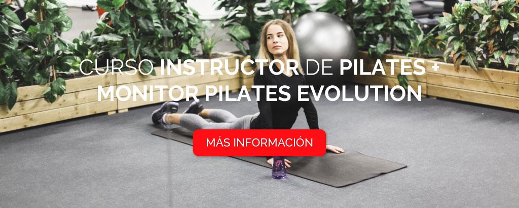 Curso de Instructor de Pilates + Monitor Pilates Evolution