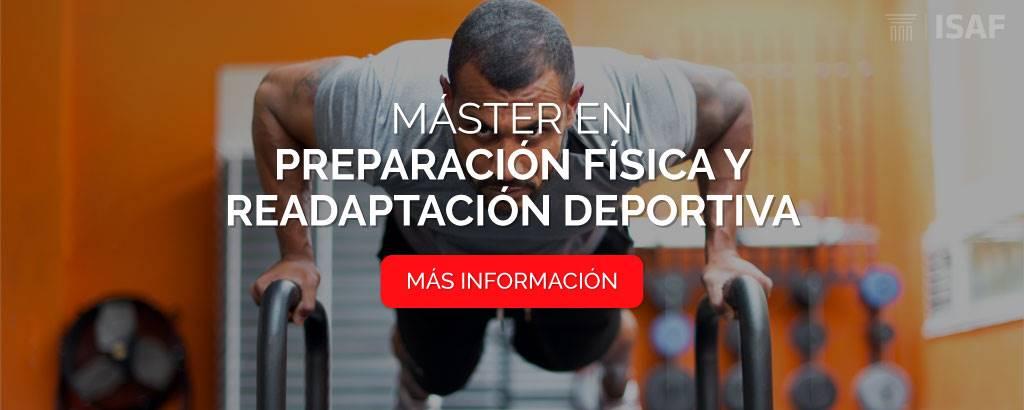 máster preparación física