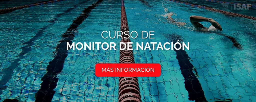 curso monitor natación