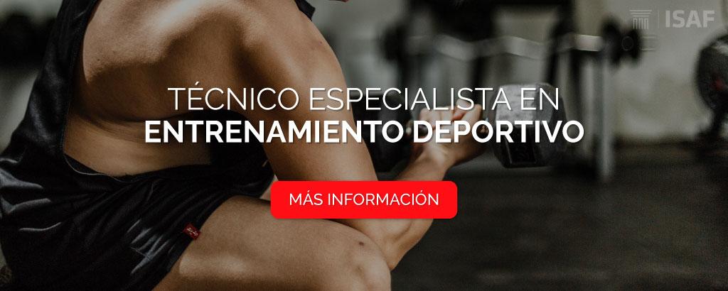 curso técnico entrenamiento deportivo