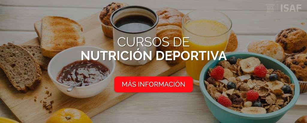 cursos nutrición deportiva