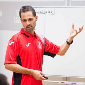 CRISTHIAN ESPARCIA - Profesor Instituto Isaf